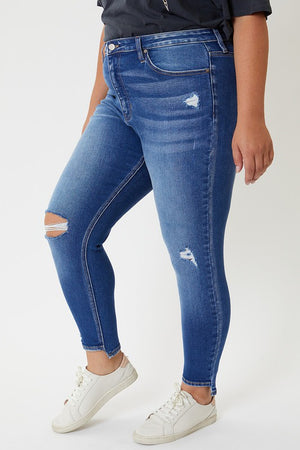Curvy Girl  - High Rise Jeans