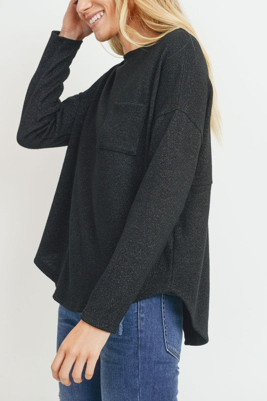 Lancaster PA Women's Clothing Store - Trendy Black Sweaters - Fall Sweaters