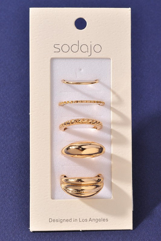 Gold Ring Sets