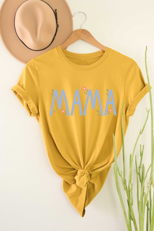 Mama Flower Graphic Tee