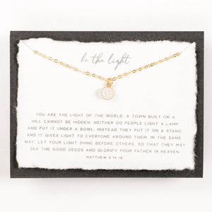 Be the Light Necklace