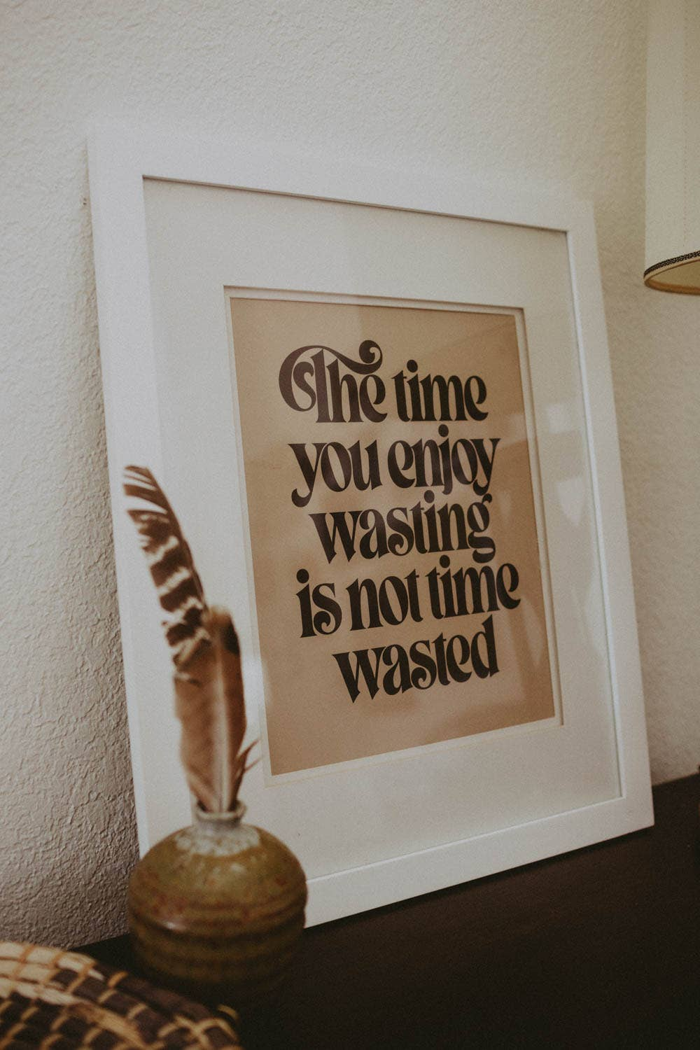 Letterpress: Wasted Time