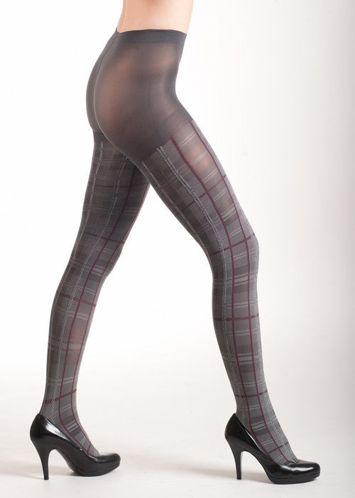 Plaid Pantyhose