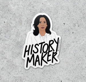 "Kamala ""History Maker"" sticker"