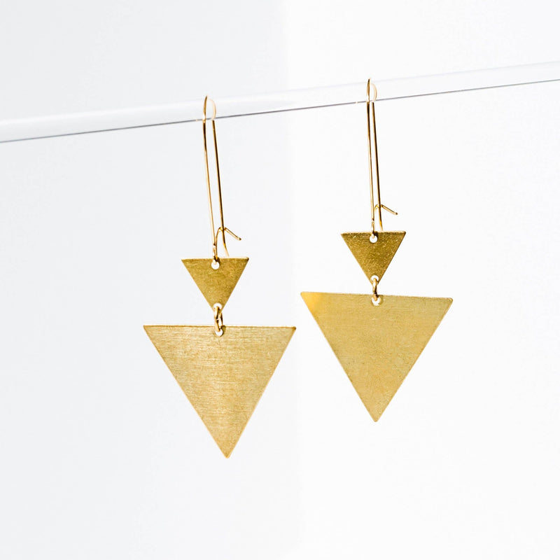 Triangulation Earrings
