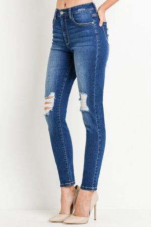 Kelly High Rise Skinny Jeans