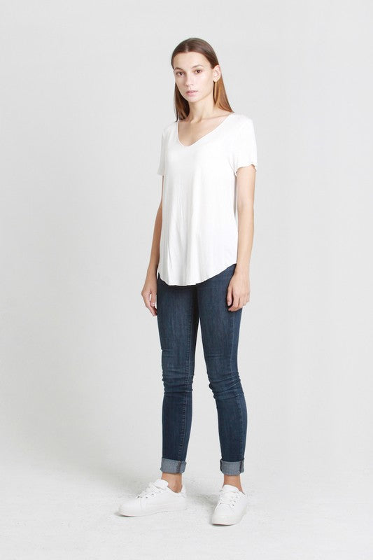 The Everyday Short sleeve Solid Top