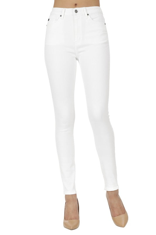 Highrise White Jeans