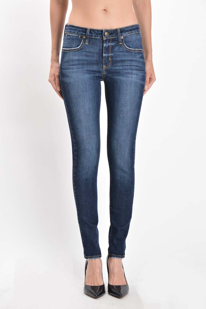 Savannah Medium Dark Wash Denim - Nicoletaylorboutique