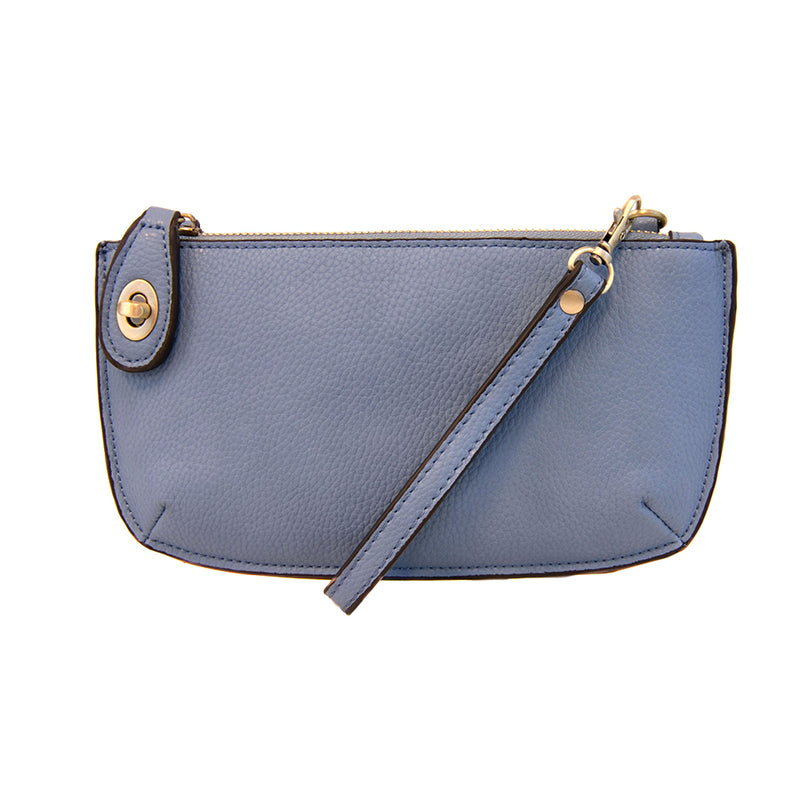 Chambray Mini Crossbody Wristlet Cultch