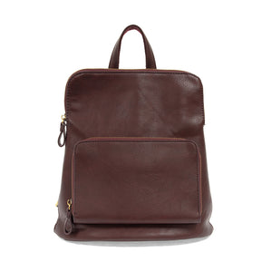 Julia Mini Maroon Backpack