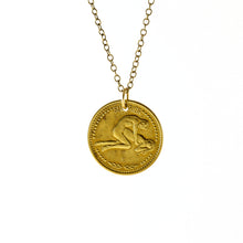 Zodiac Peep show Token Necklace- Gemini - Nicoletaylorboutique