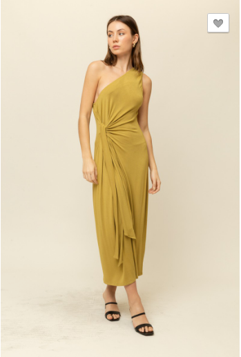 Final Sale - One shoulder Goodie Dress