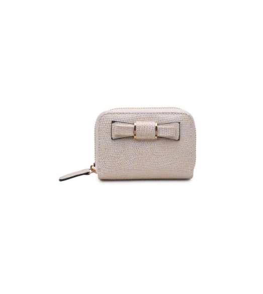 Cream Urban Expressions Vegan Card Holder - Nicoletaylorboutique