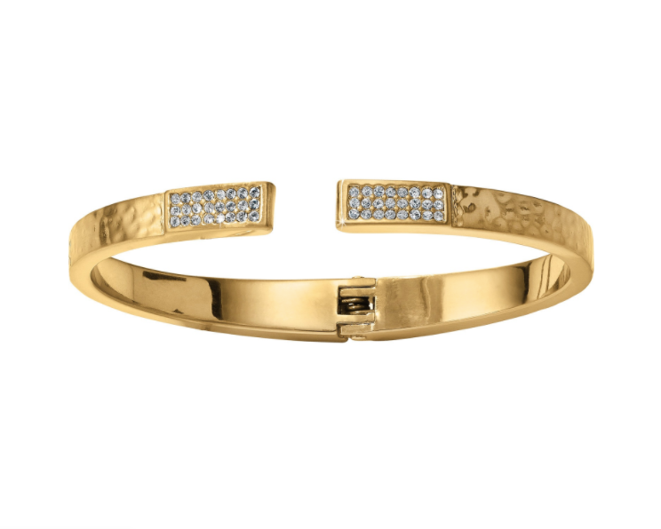 Meridian Zenith Hinged Bangle - Nicoletaylorboutique