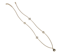 Lorenza Trio Long Necklace - Nicoletaylorboutique