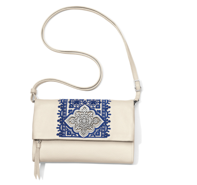 Casablanca Garden Flap Organizer - Clutch Purse - Nicoletaylorboutique