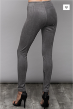 Suede High Rise Leggings
