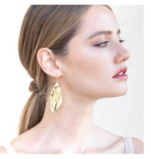 TULLA STATEMENT THREADER EARRINGS