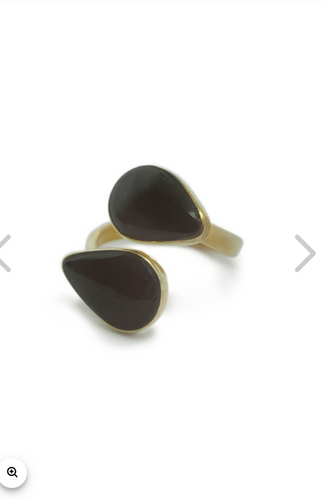 INDRA HORN STATEMENT RING