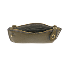 Camo Olive Mini Crossbody Wristlet Clutch
