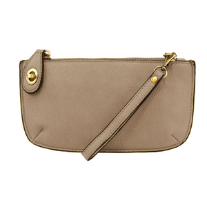 Driftwood Mini Crossbody Wristlet Clutch