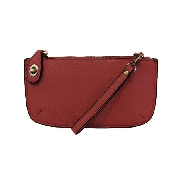 Garnet Mini Crossbody Wristlet Clutch
