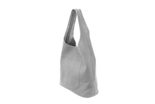 Light Grey Molly Slouchy Hobo Handbag
