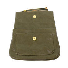 Olive Alice Crossbody w/Tassel Handbag