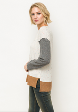 The Goat Color Block Sweater
