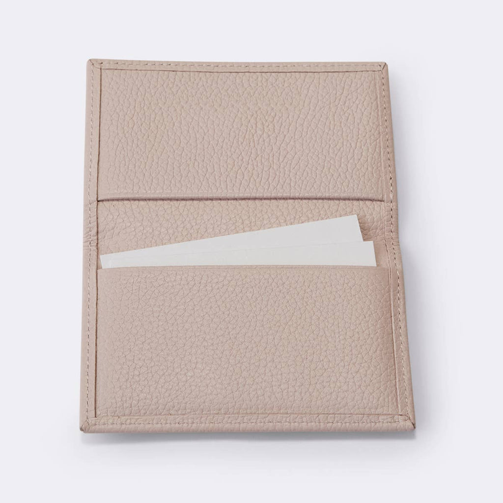 Vegan Leather Business Card Holder