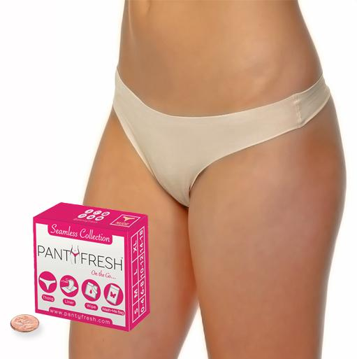 4in1 Panty Fresh No Show Thong Underwear