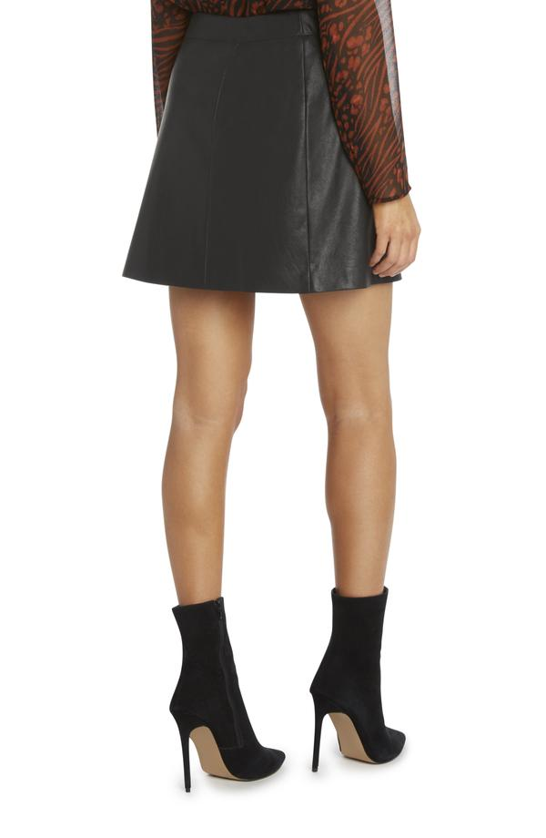 Shailene Faux Leather Mini Skirt