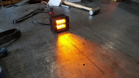 3x2 18W Amber Pod - Cali Raised LED