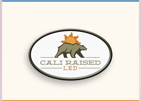 Cali Raised LED Patch - Cali Raised LED