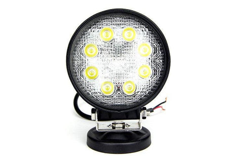 27W Round LED Work Light - Cali Raised LED