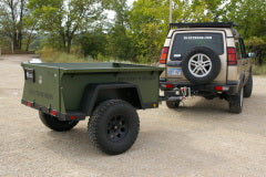Rugged 'N Ready 72'' Backwoods Trailer