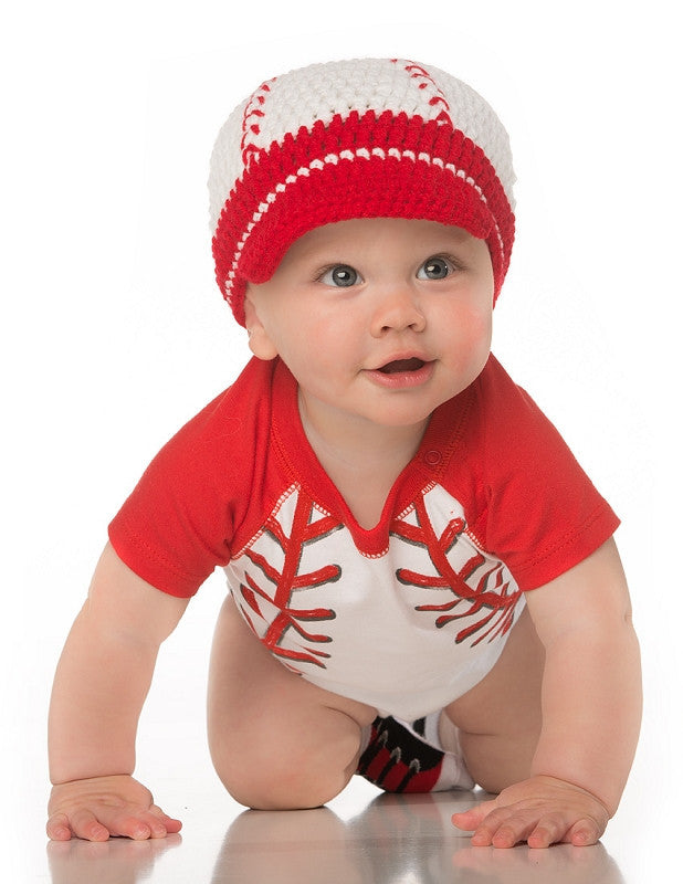 Create an Adorable Photo Shoot with an Infant Baseball Uniform