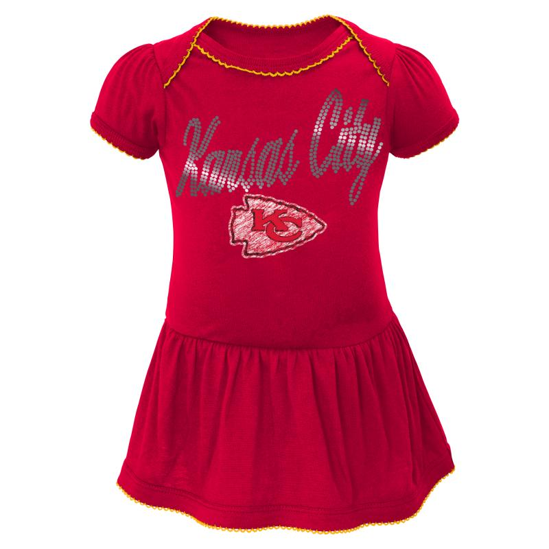 Chiefs Girl Drop Waist Dress