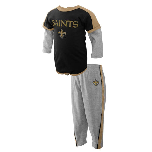Saints Long Sleeve Body Suit and Pants