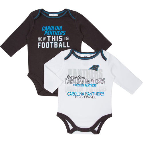 Panthers Football Onesies 2-Pack