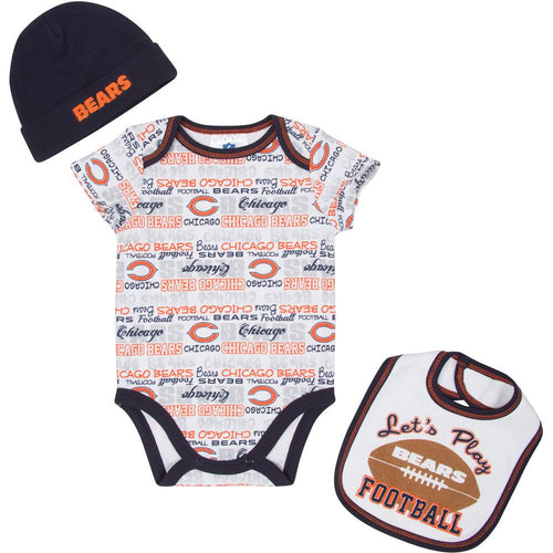 Let's Play Bears Football Newborn Outfit