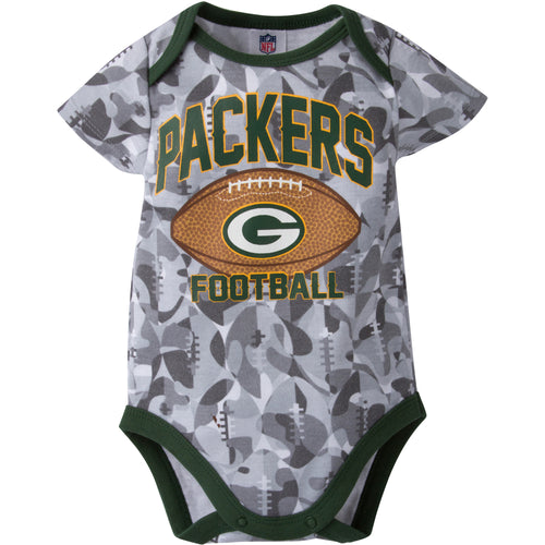 Packers Infant Camo Bodysuit