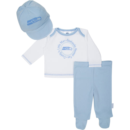 Seahawks Newborn Outfit