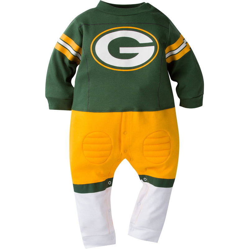 Green Bay Packers Uniform Outfit