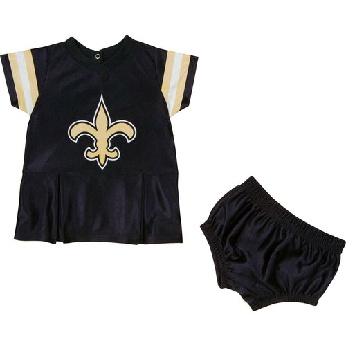 Saints Baby Dazzle Dress