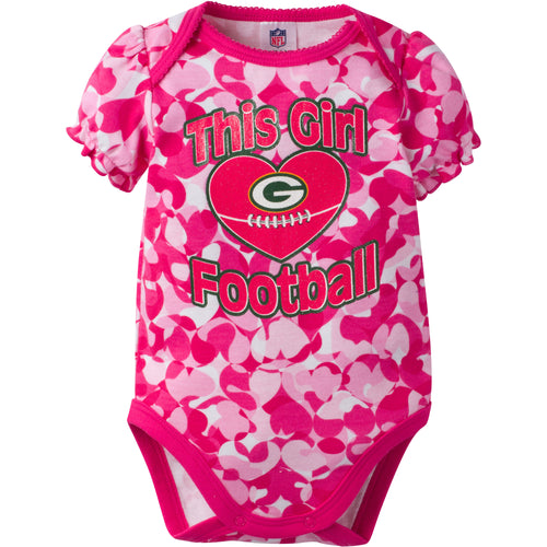 Packers Infant Girl Camo Bodysuit