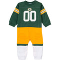 Packers Fan Football Uniform Coverall