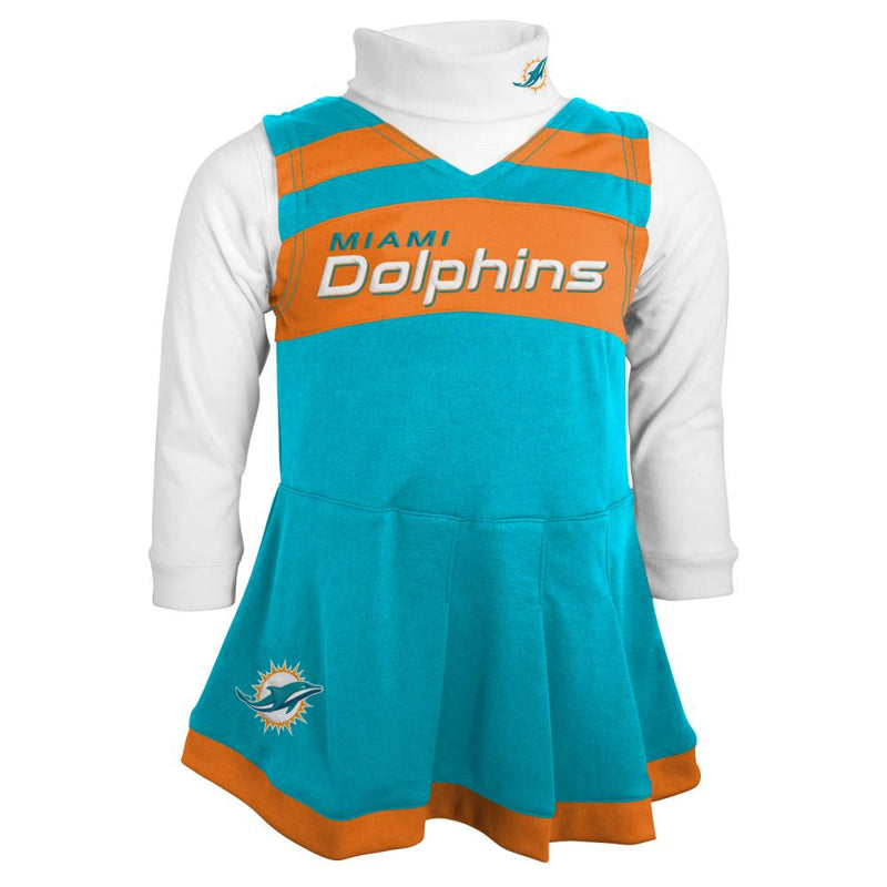 Miami Dolphins Cheerleading Dress (Only 3T Left)