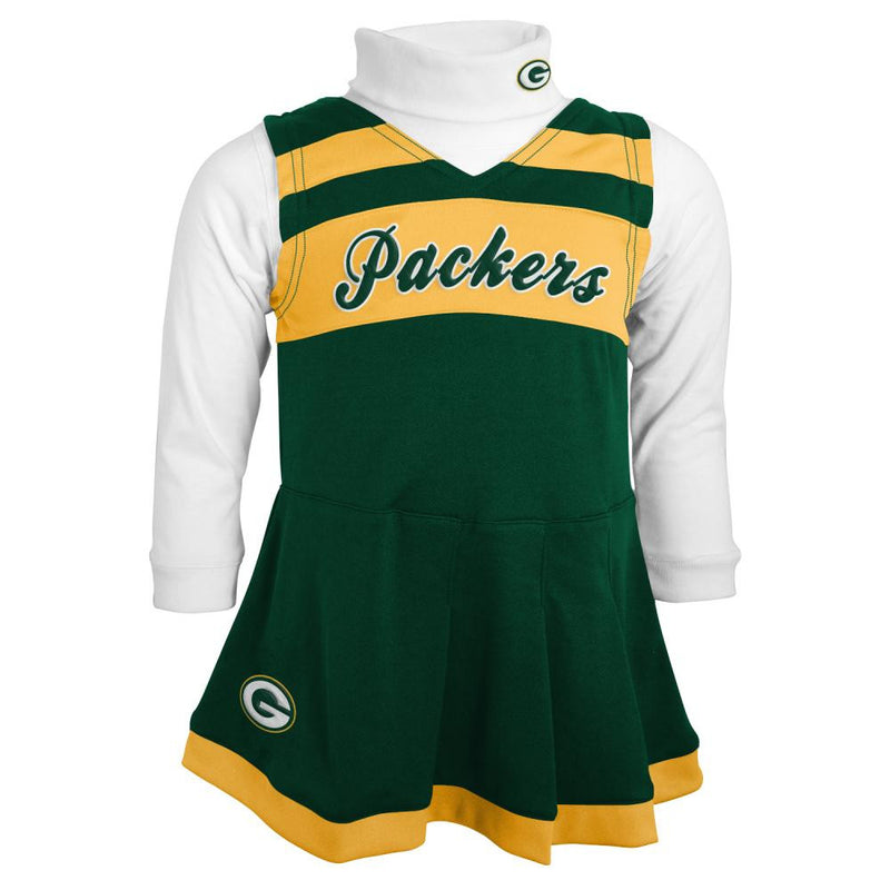 Packers Infant Cheerleader Outfit